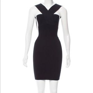 MCQ by Alexander McQueen Sleeveless two tone dress